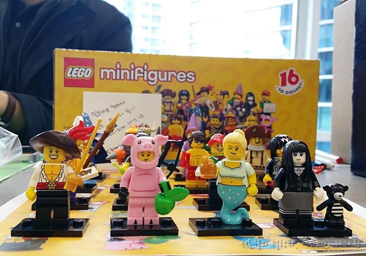 레고 피규어, 레고 미니 피규어, 레고 미니 피규어 12, 블로거나눔장터, 나눔장터, 김정운, 노는만큼성공한다,