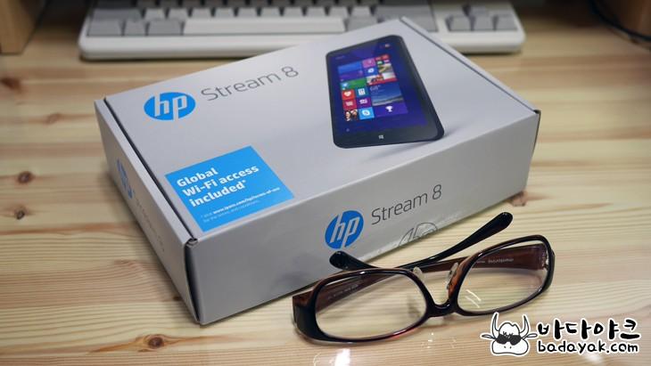8인치 윈도우 태블릿PC HP 스트림8 특징