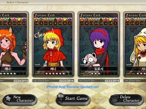 소서리스 오브 포춘 Sorceress of Fortune 추천 RPG 퍼즐 게임
