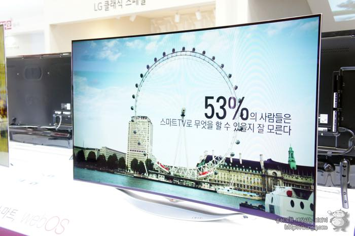 혼수가전, 혼수TV, LG, 전자, 곡면, OLED, TV, 55EC9300