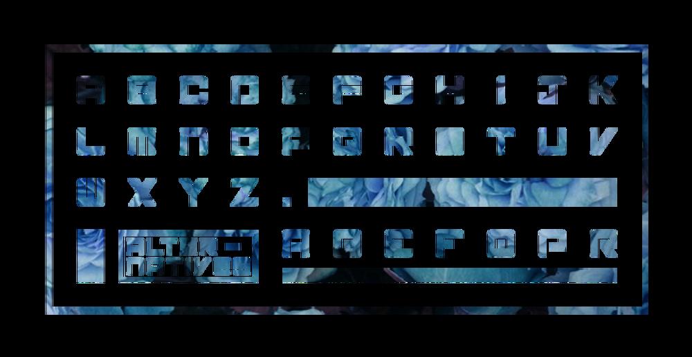 미래적인 느낌의 산세리프 무료 영문폰트 : Atlantico Typeface (Free & Editable)