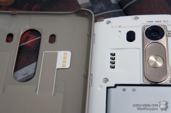 LG G3, 퀵서클케이스, 특징, 무선충전