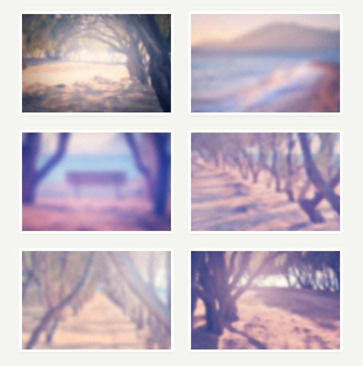 6 가지 무료 고화질 여름 블러 백그라운드(배경) 이미지 - 6 Free Hi-Resolution Summer Blurred Backgrounds