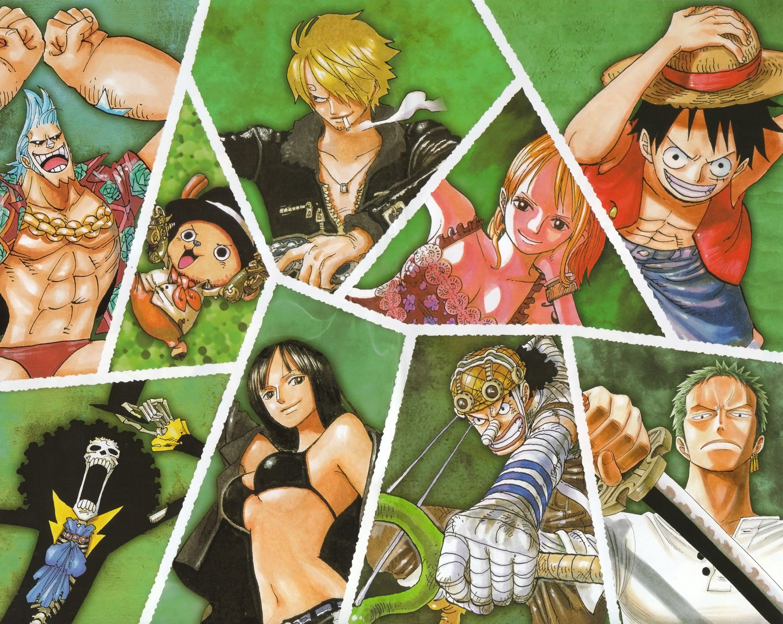 1 - One piece equipage luffy ...