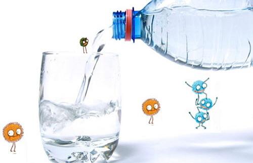 재사용 생수병 박테리아 Bacteria of Bottled water