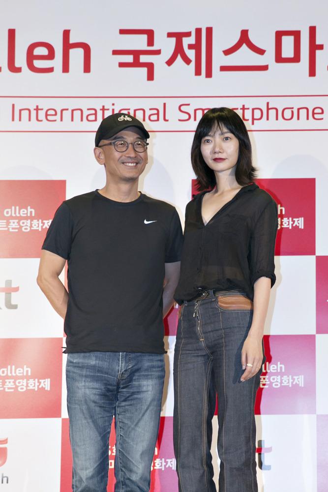 올레국제스마트폰영화제 심사위원 이준익 감독, 배우 배두나