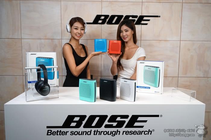 새로운 보스 블루투스 스피커와 이어폰, 홈시어터를 만나본 간담회