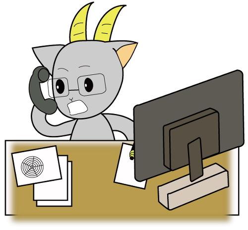 멜로요우 사무직 컴퓨터