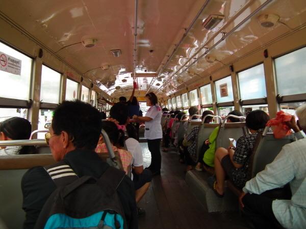 태국 방콕 시내 버스