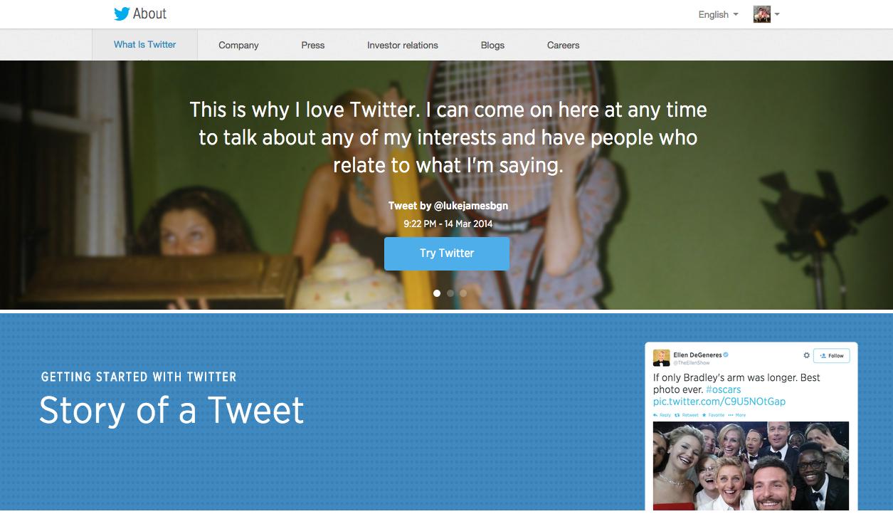 트위터는 다른 소셜네트워크 서비스와는 다른 특성을 가지고 있다