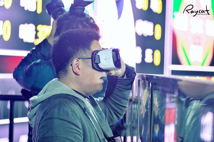 기가 VR 체험.