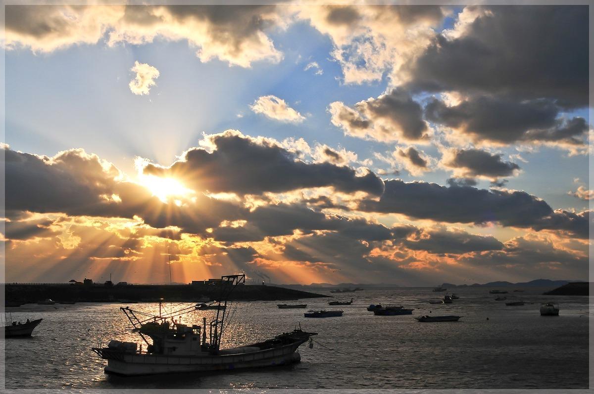 궁평항 일몰(11.11.20)