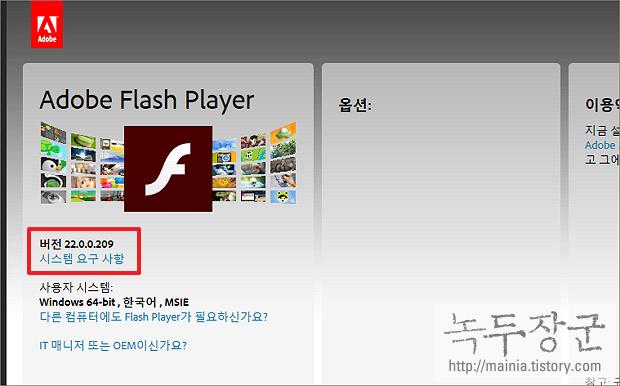 구글 크롬 Chrome Shockwave Flash has crashed 에러 날 때 해결하는 방법