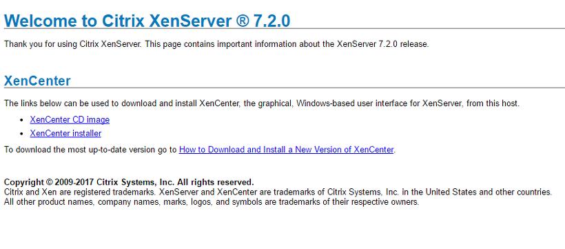 XenServer 설치