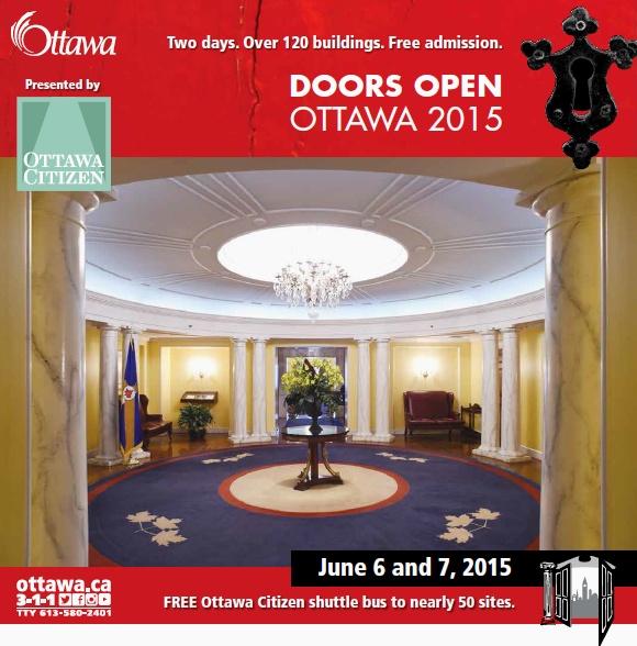 캐나다 오타와 무료관람 Doors Open