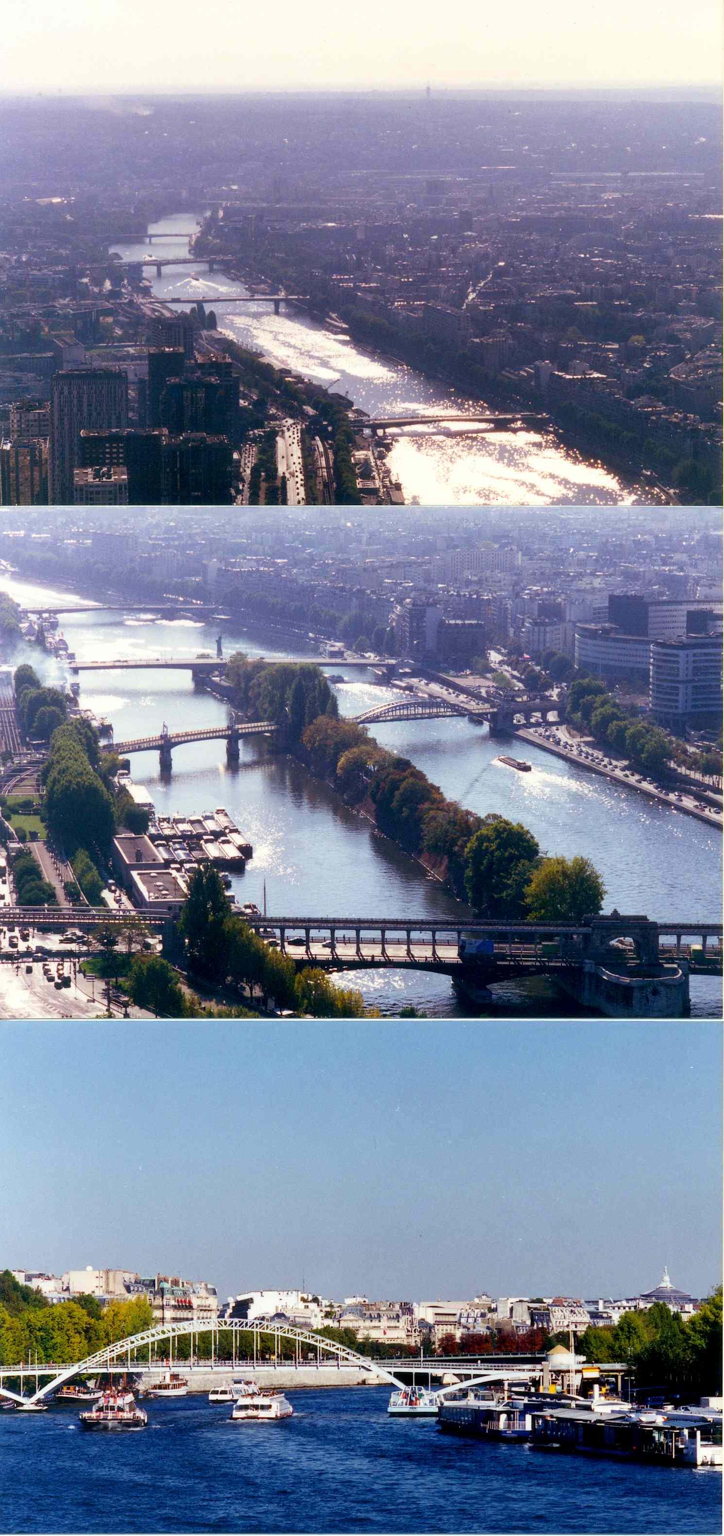 1996년 프랑스 파리 세느강 주변