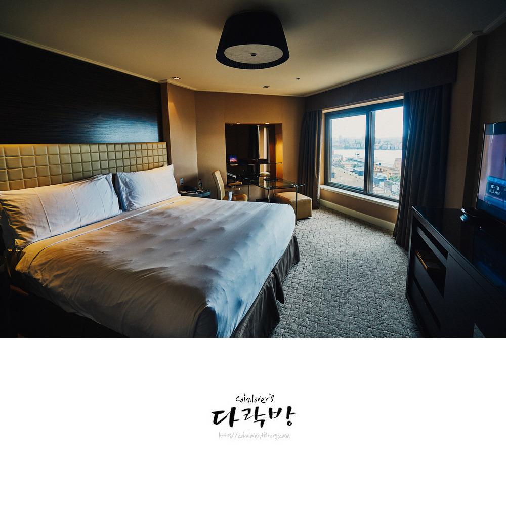 호주 시드니 포시즌 호텔의 전망  Feat. 오페라하우스와 하버브릿지