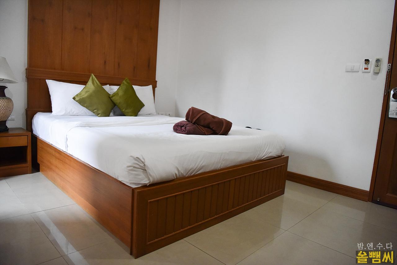 MVC호텔 침대