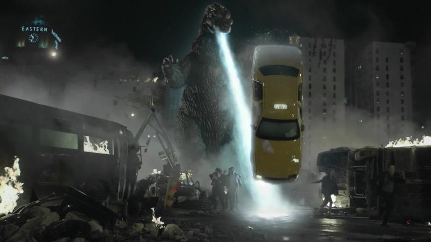 스니커즈(Snickers)와 고질라(Godzilla)의 공동광고(타이인/Tie-in Commercial) [한글자막]