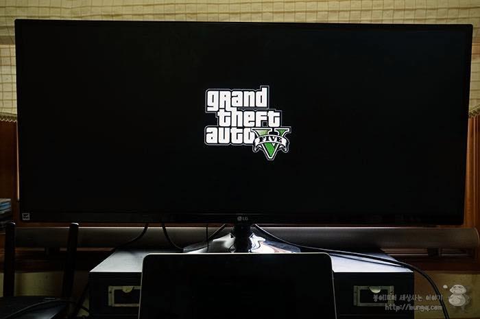 GTA5 21:9 플레이, 34인치 LG 34UM56 울트라와이드 후기