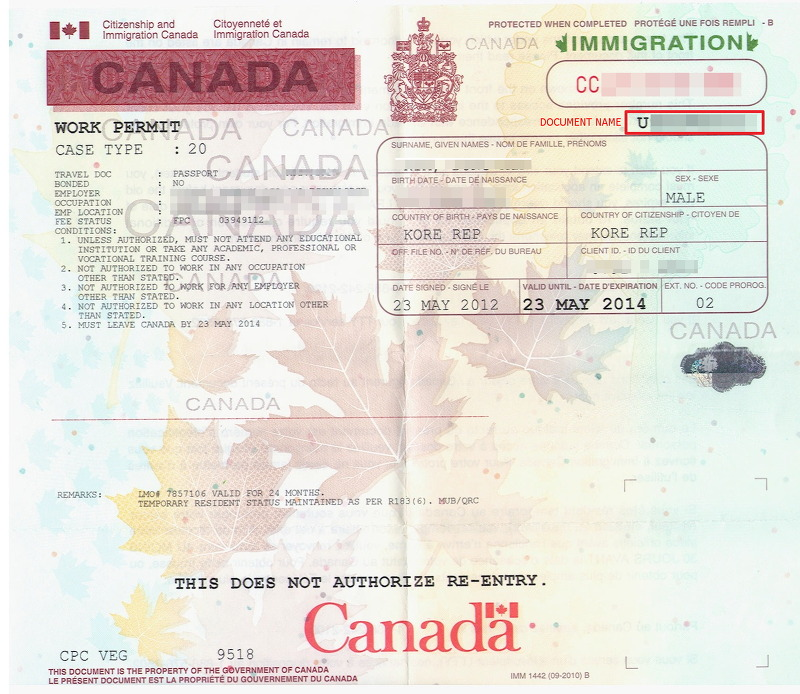 how to apply for open work permit for canada