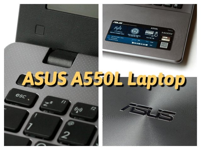 ASUS A550LN 노트북 -  A550LN-CN115 에이수스