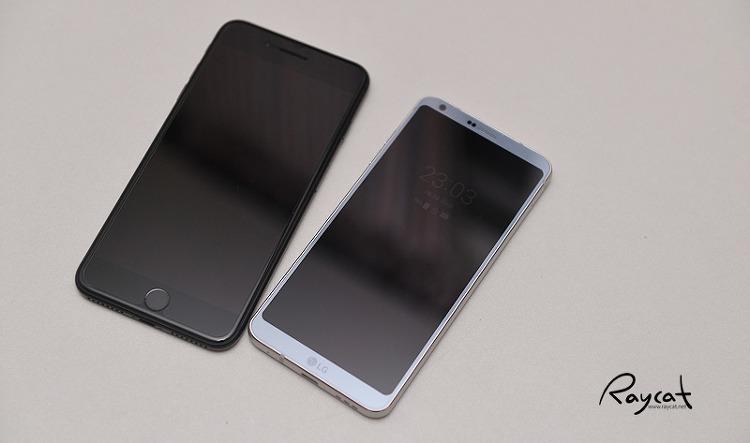 아이폰 7 플러스와 G6