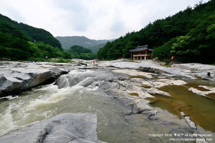함양 여행 / 함양8경 / 화림동 계곡의 화룡점정 농월정