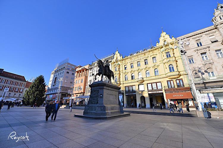 자그레브 반 옐라치치 광장