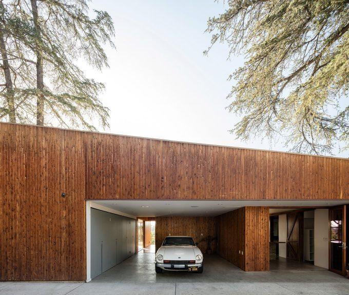 *LA 캔틸레버 구조 주택-[ Anonymous Architects ] LA house