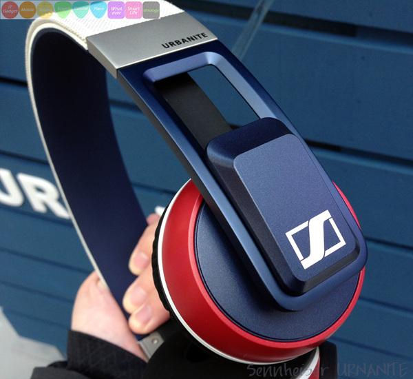 젠하이저 어반나이트 헤드폰 - Sennheiser Urbanite Headphones
