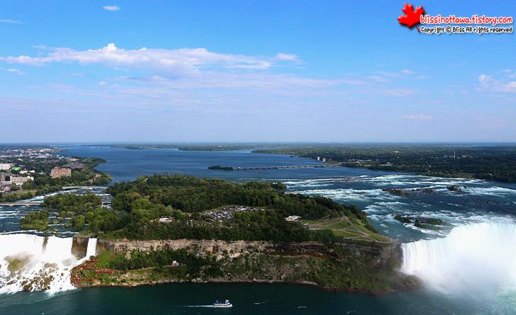 캐나다 동부여행 나아이가라 폭포 스카이론