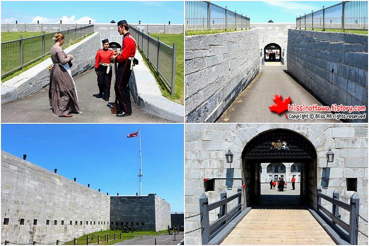 캐나다 동부여행 킹스턴 포트헨리 Fort Henry 세계문화유산