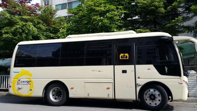 25인승 중국 선롱버스
