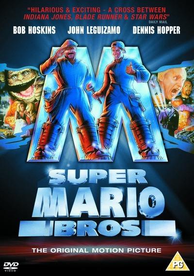 슈퍼마리오 브라더스 영화 포스터 super mario bros. poster