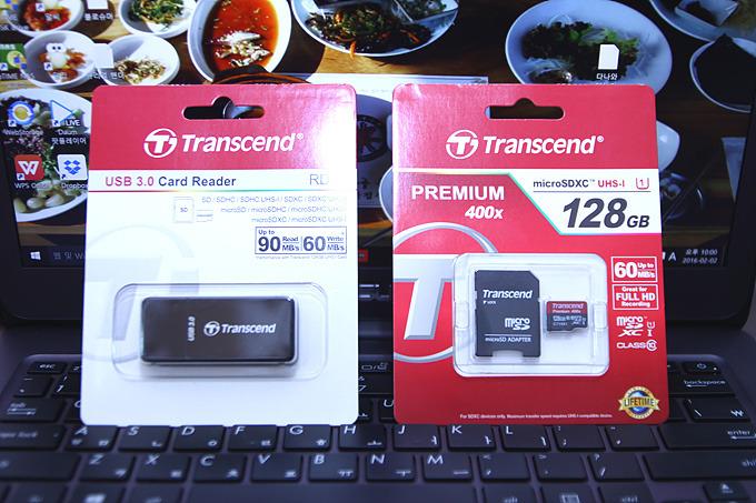 UHS-1 규격 마이크로SD카드, 트랜센드 마이크로 SDXC 128GB 사용기