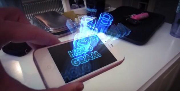 엠스블로그의 아는 만큼 보인다 아이폰에서 3d 홀로그램 영상 보는 방법