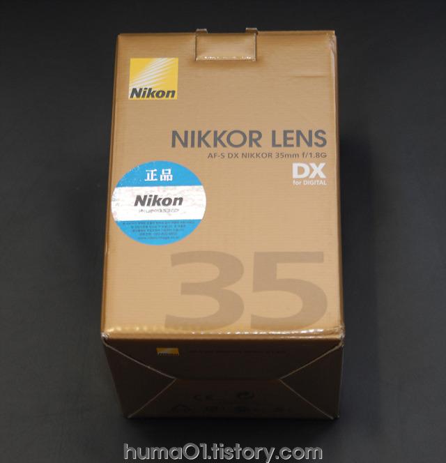 니콘 AF-S DX NIKKOR 35mm F1.8G 렌즈