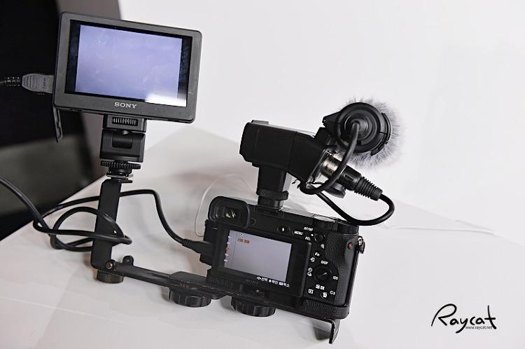 영상 촬영을 위한 A6500