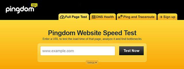 웹사이트 성능 및 속도 분석 사이트 6곳