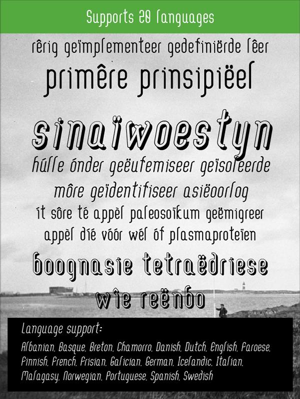 빈티지 무료 영문 폰트 : Aaram (Free Font)