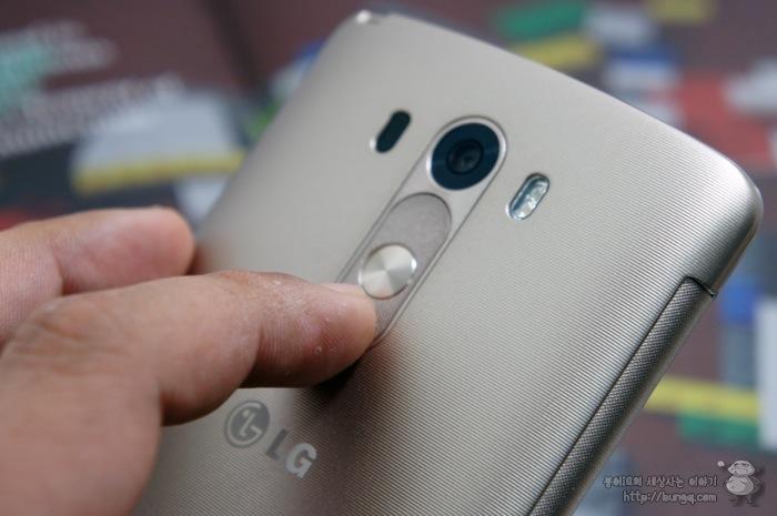 LG G3, 퀵서클케이스, 기능, 카메라