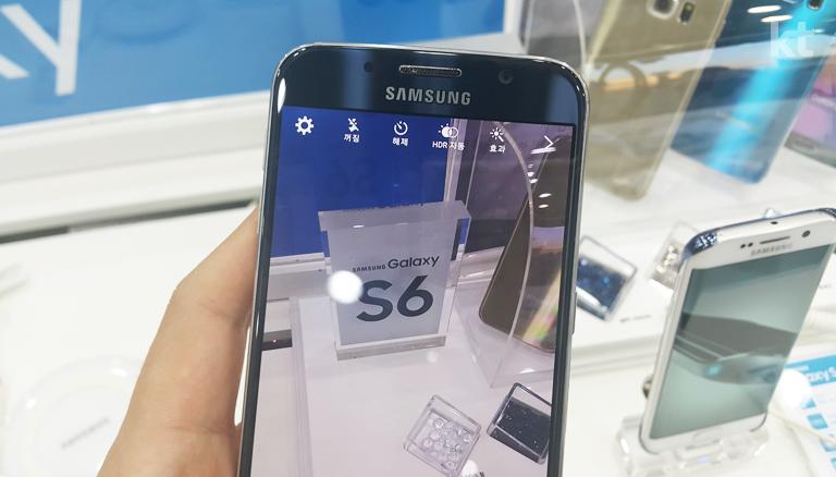 갤럭시 S6의 카메라 대기 사진