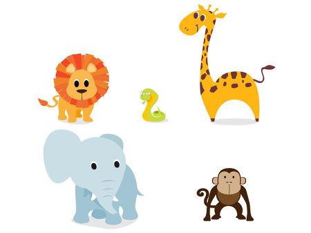 무료일러스트이미지 디자인소스 다운로드 무료 동물 클립아트 다운 Animals
