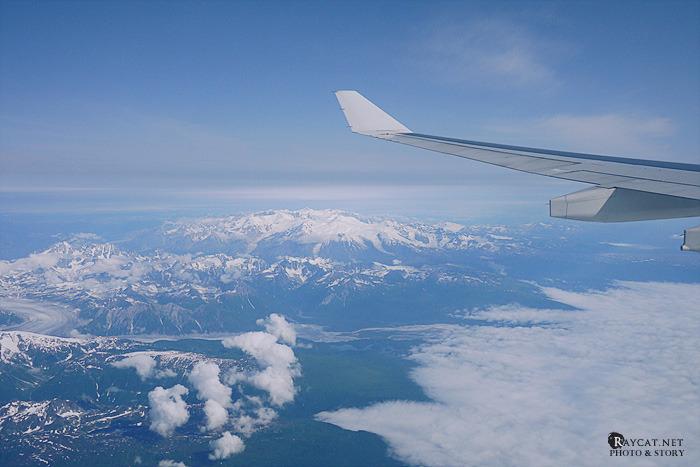 하늘에서 본 알래스카