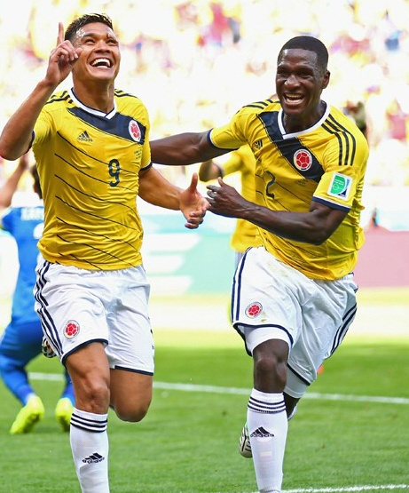 [2014 블라질 월드컵] 콜롬비아 vs 그리스 3:0 콜롬비아 승리
