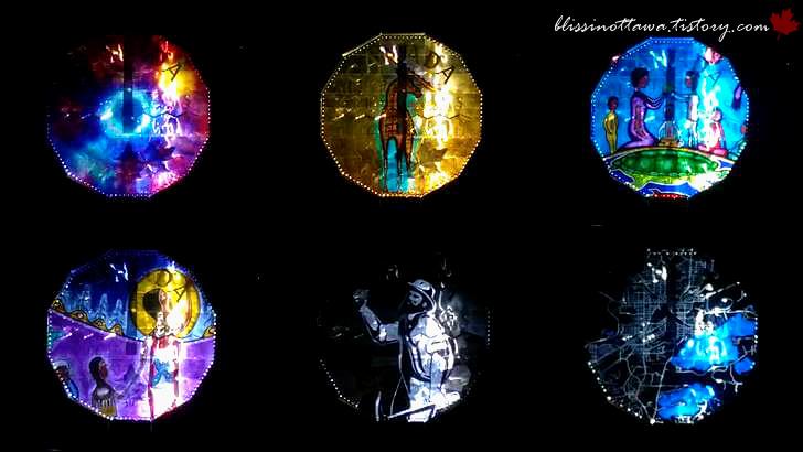 니켈 광석 발견 모습입니다