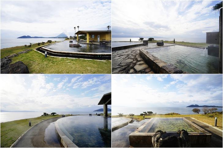 [이부스키여행] 대자연의 파노라마를 즐길 수 있는《타마테바코 온천》과 《모래찜질온천 사유리》