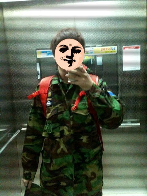 2012년... 동원 훈련 떠나는 날...