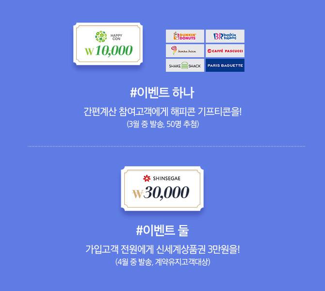 해피콘 기프티콘 신세계상품권 3만원 이벤트